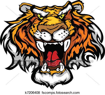 450x408 Tiger Clipart Eps Images. 12,765 Tiger Clip Art Vector