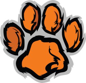 300x291 Tiger Paw Clip Art