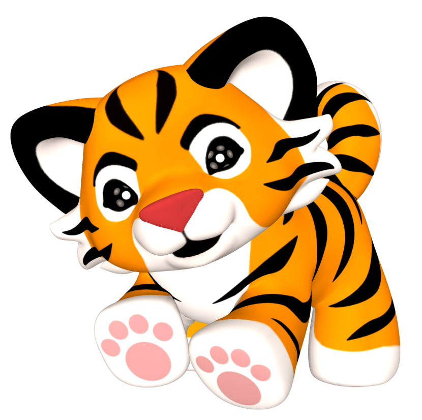830x826 Tiger clip art clipart photo 2