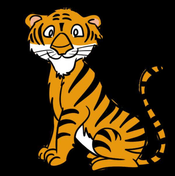 600x602 Top 85 Tiger Clipart
