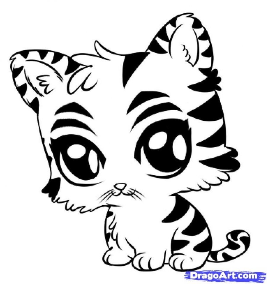 902x960 Get This Baby Tiger Coloring Pages for Kids 83681 !