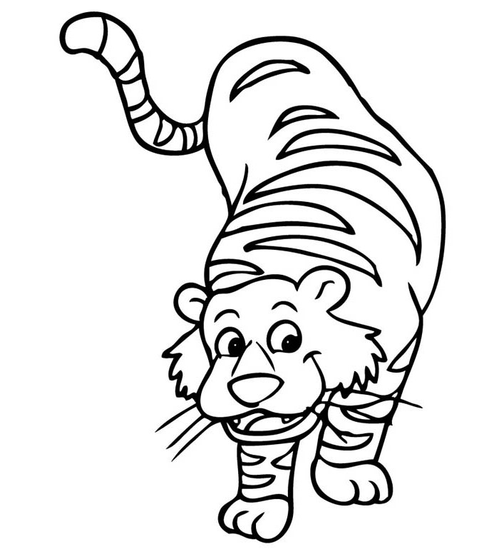 700x776 Tiger Coloring Pages Printable