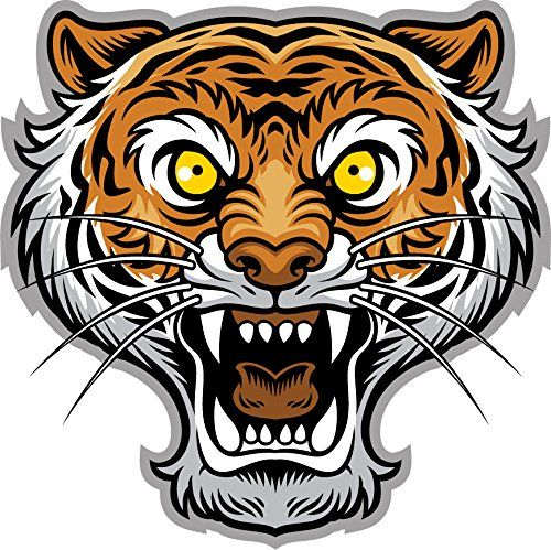 500x499 20 best Tiger Mascot Drawing Inspiration images Big