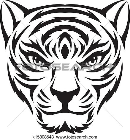 438x470 Drawn tiiger female tiger