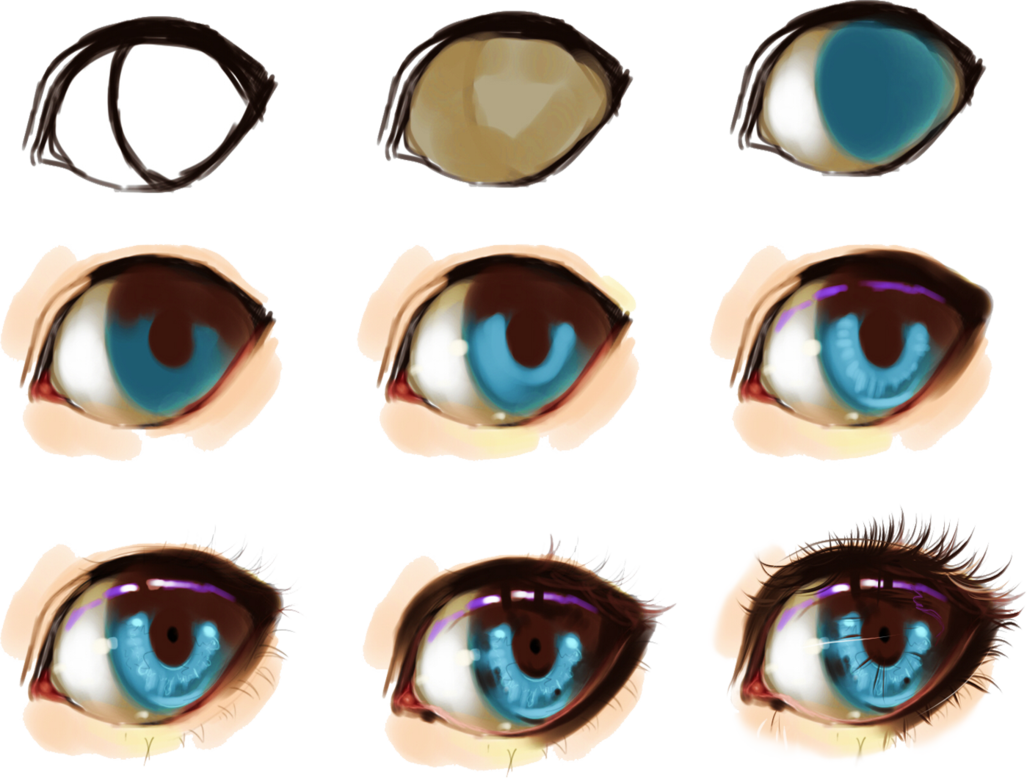 1027x778 Some Help For Drawing Eyes Tutorials, And Facebook