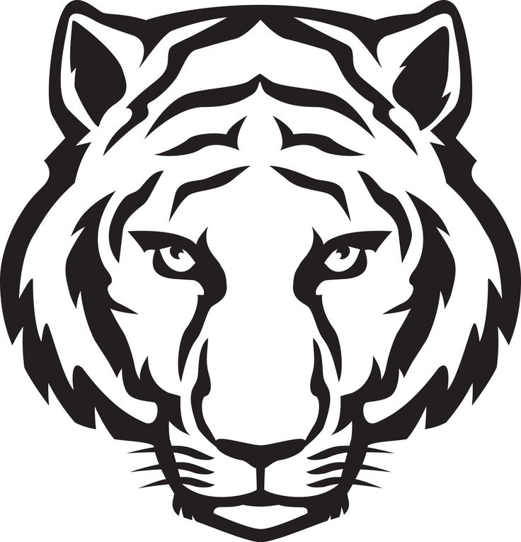 736x765 white tiger face printables