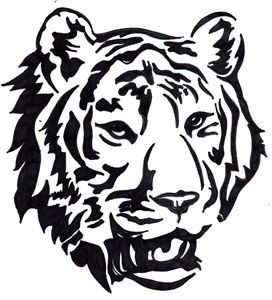 272x300 Best Tiger Face Drawing Ideas Young Art
