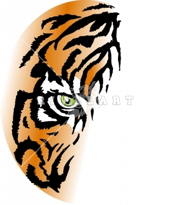 333x400 Eye Of The Tiger Clipart