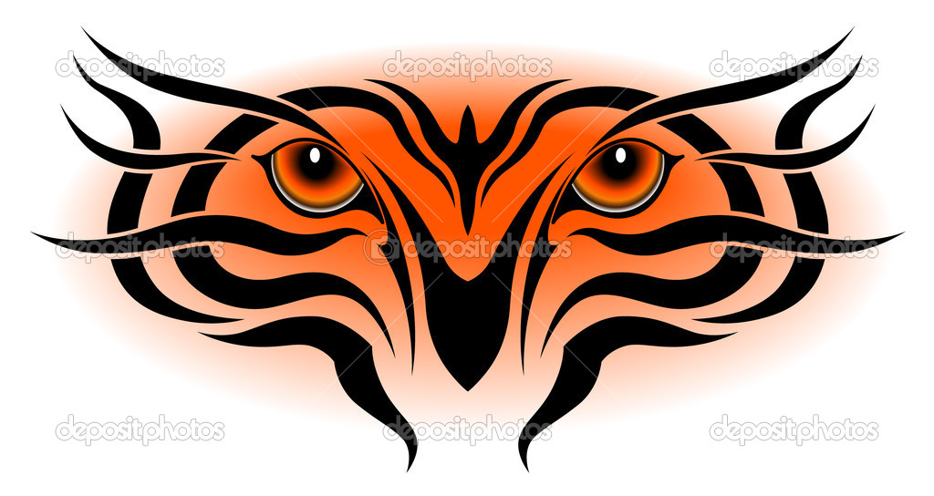 1024x544 Free Tiger Eyes Clipart Image