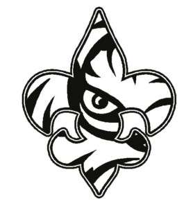 278x300 Lsu Eye Of The Tiger Clip Art