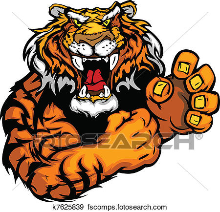 450x434 Tiger Clipart EPS Images. 12,765 tiger clip art vector