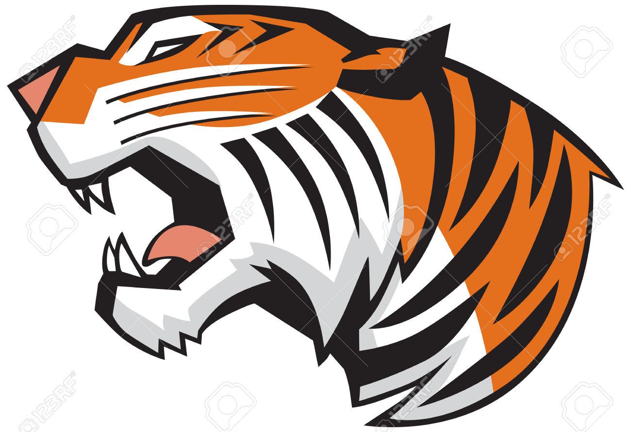 1300x891 Bengal Clipart Tiger Logo