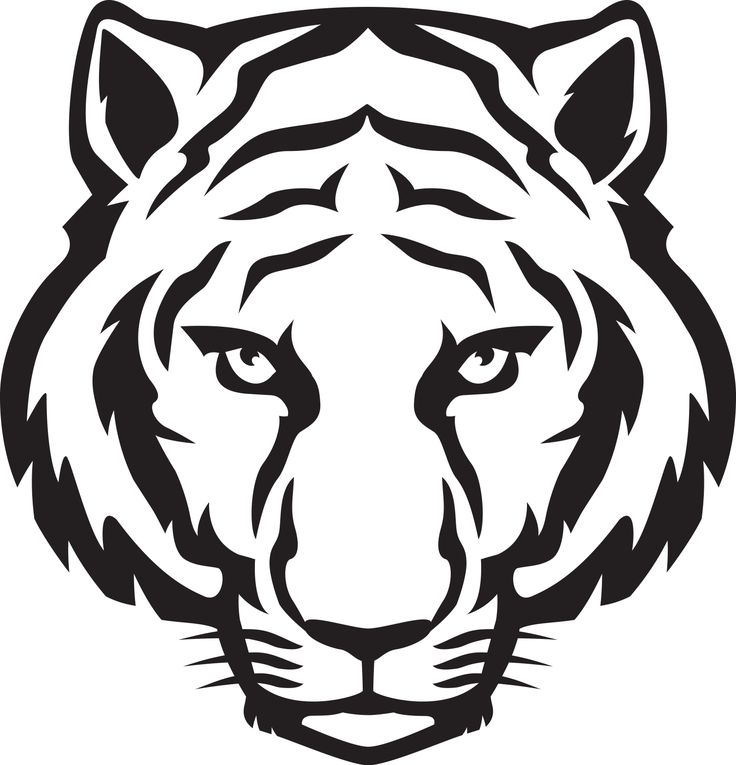 736x765 Bengal Clipart Tiger Outline