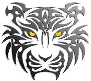 320x285 Tribal Tiger Tattoo Design Art Tattoo Art Tribal