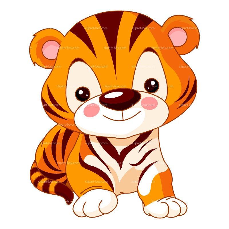 800x800 Cute Tiger Face Clip Art Free Clipart Images