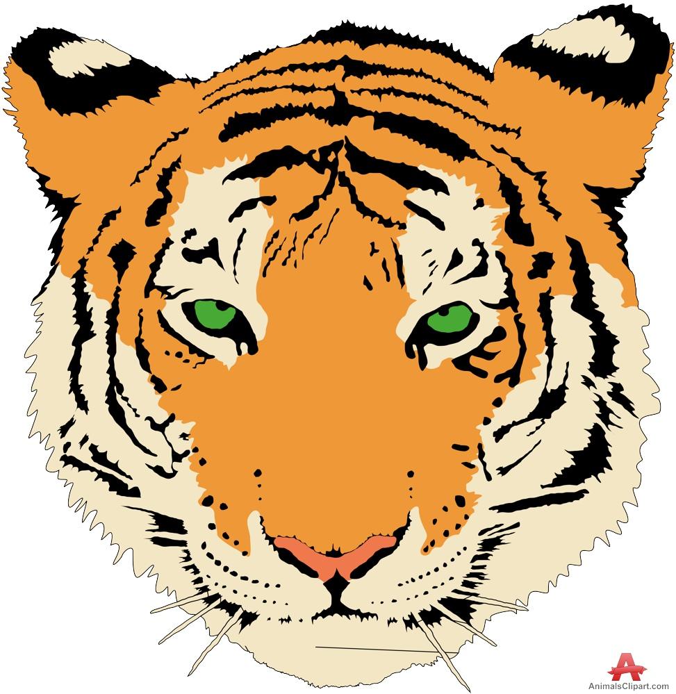 973x999 Tiger Clipart Tiger Head