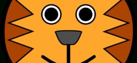 272x125 Tiger Face Clip Art Color Clipart Panda