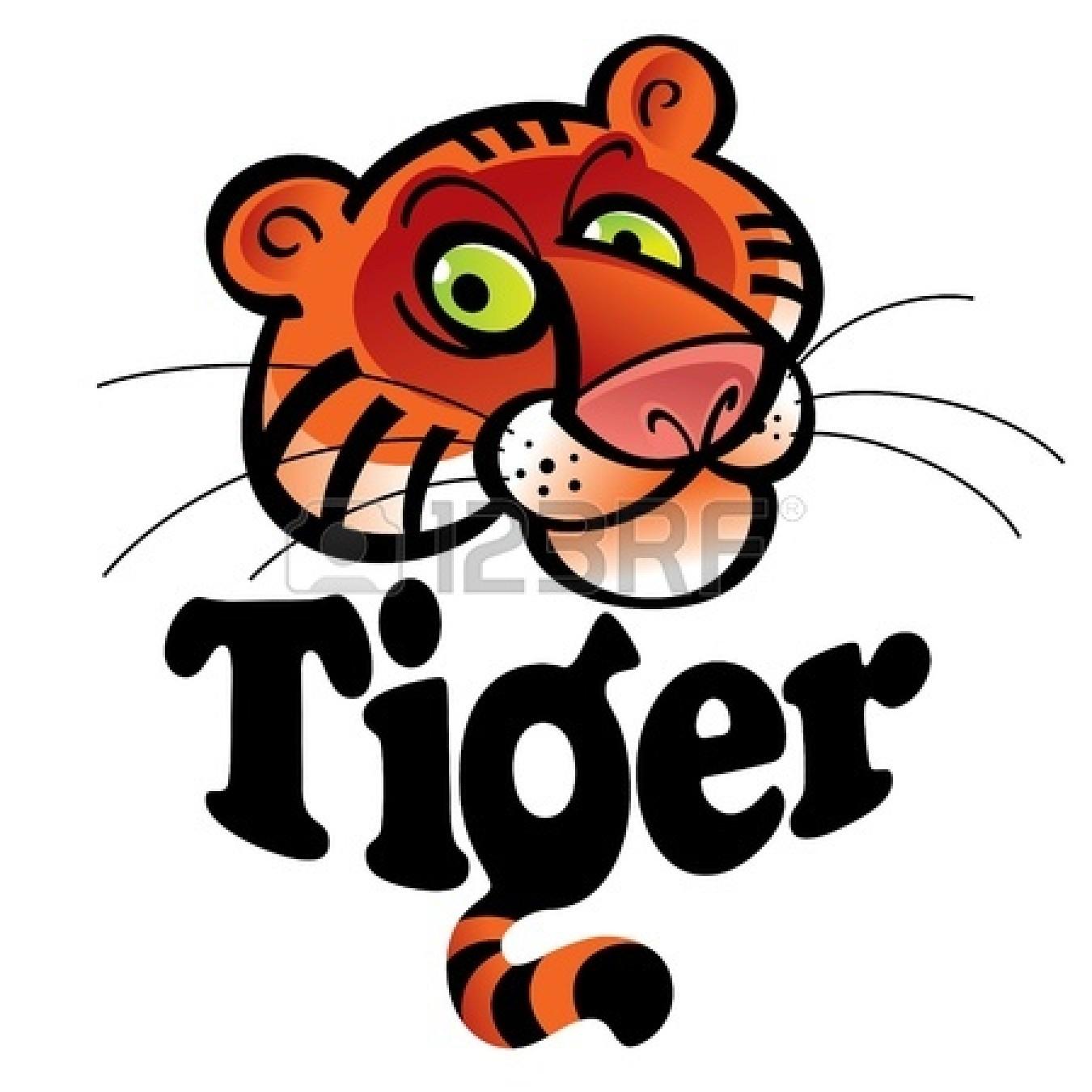 1350x1350 Cute Tiger Clipart