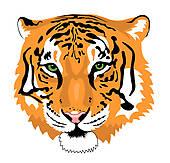 170x163 Tiger Head Clip Art