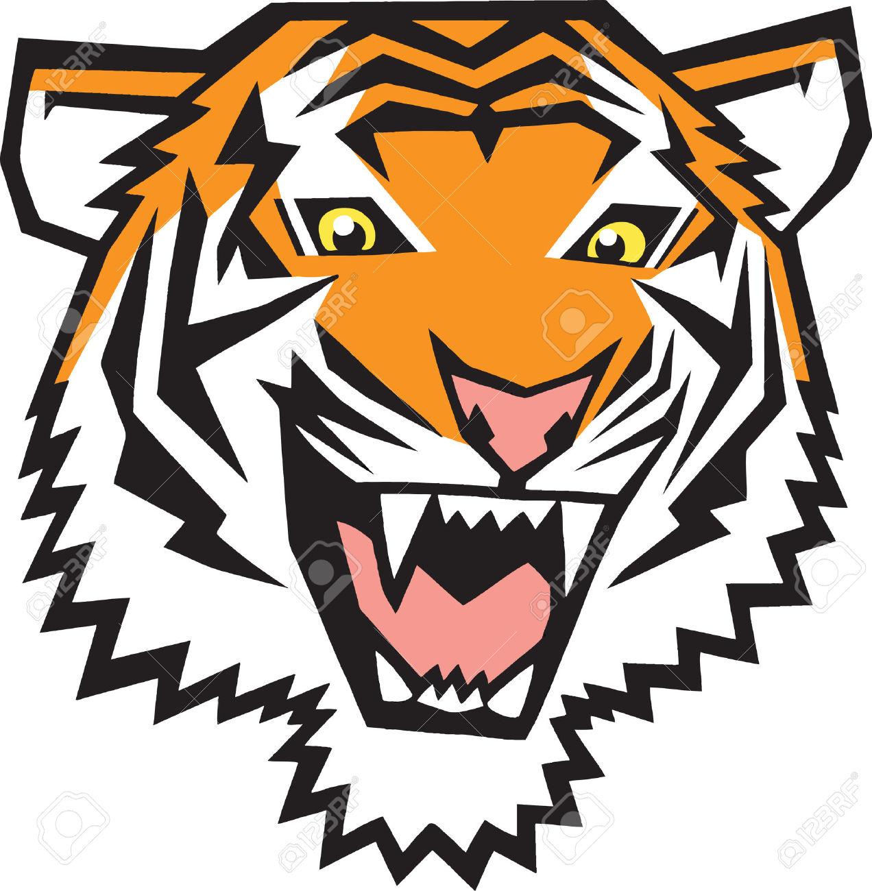 1272x1300 Tigres clipart tiger head