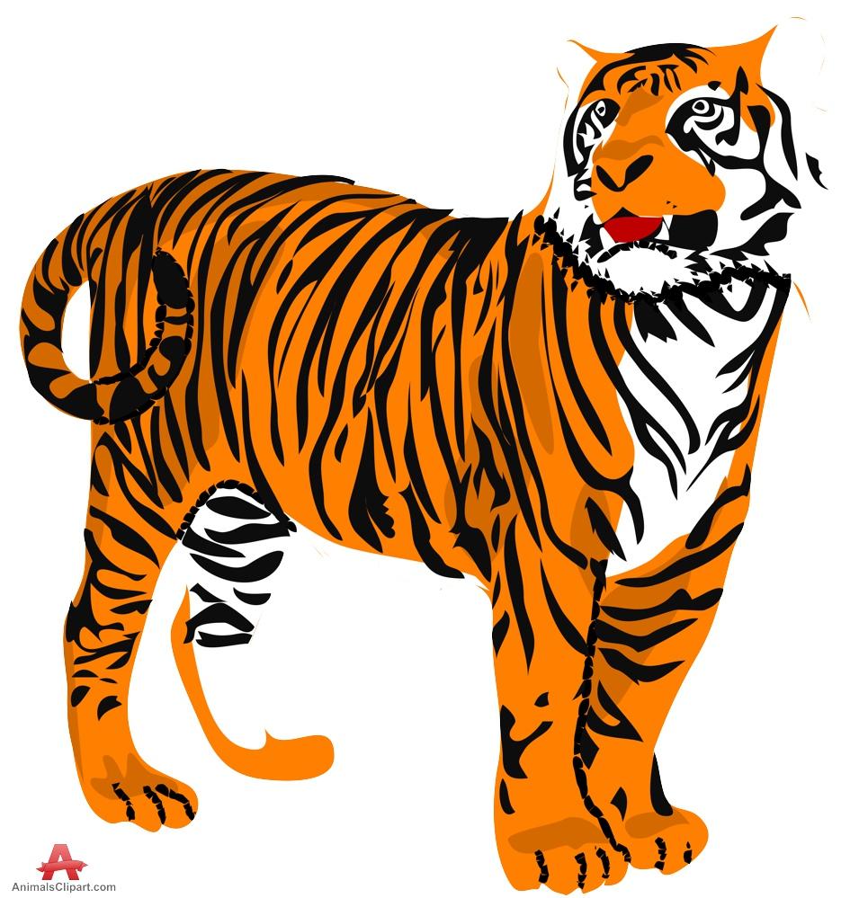 965x999 Top 95 Tiger Clip Art