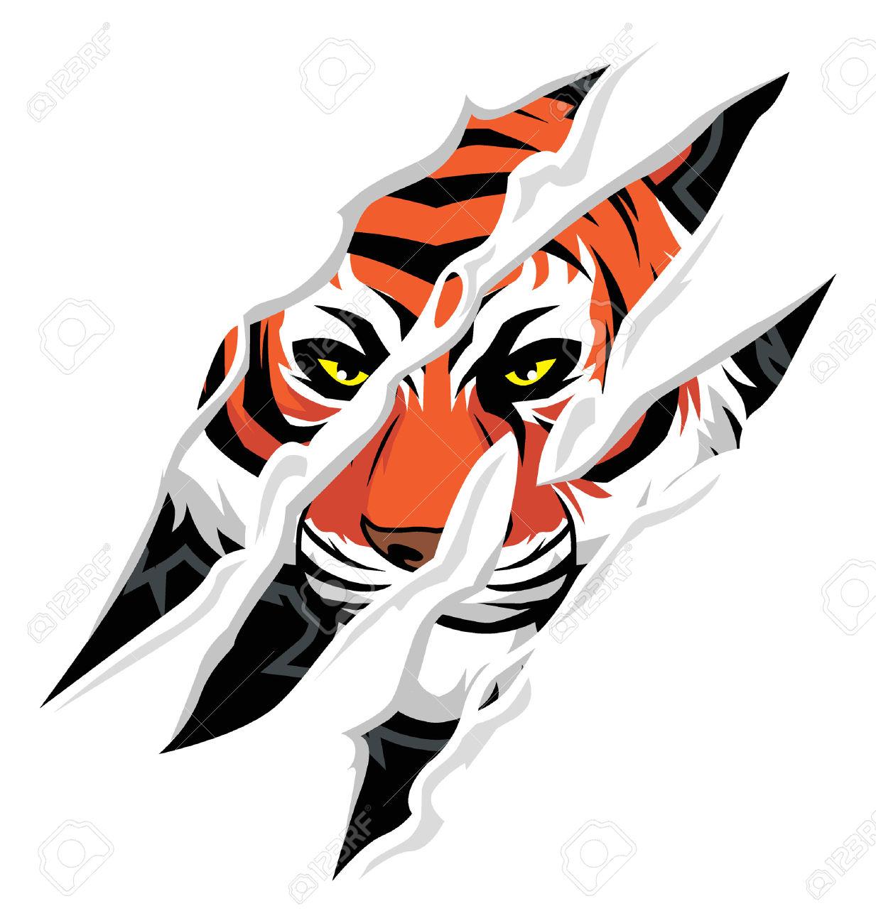 1233x1300 Bengal Clipart Tiger Head