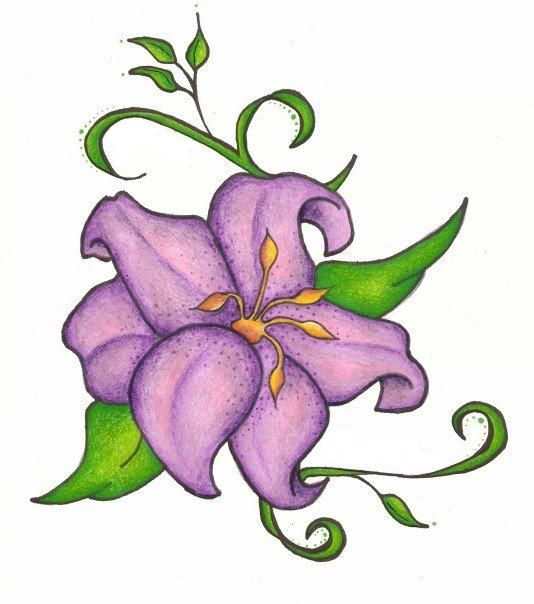 Tiger Lily Clipart