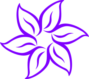 299x267 Violet clipart tiger lily