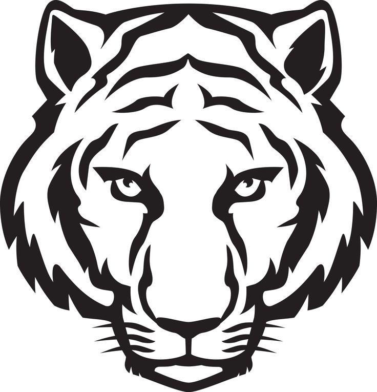 736x765 Free Tiger Logo Clip Art