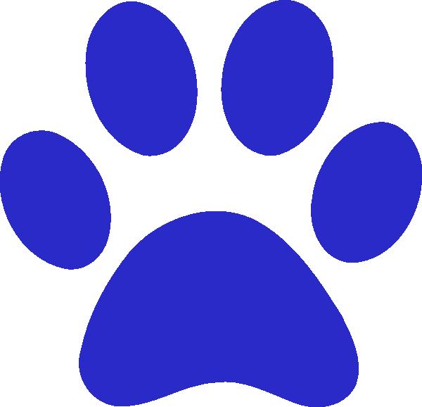 600x578 Tiger Paw Clip Art
