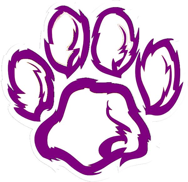 600x582 Bobcat clipart tiger paw