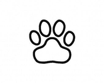 340x270 Tiger paw applique Etsy