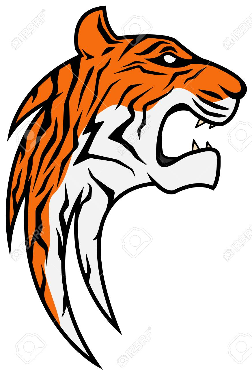 Tiger Scratch Vector Clipart