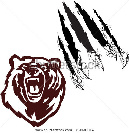 Panther claw mark logo - photo#35