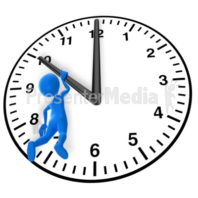400x400 Time Is Up Clipart