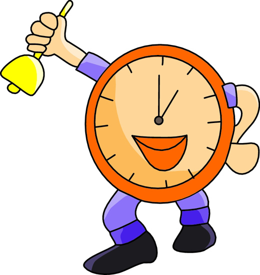 520x550 Time Change Clipart Free