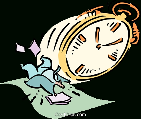 480x403 Time Management Royalty Free Vector Clip Art Illustration On Time
