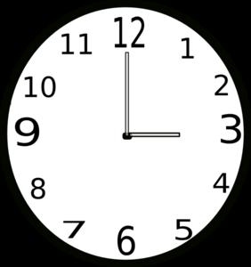 282x300 Clock Clip Art