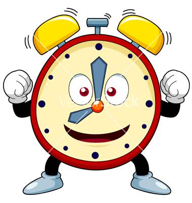 380x400 Clock Clipart Funny