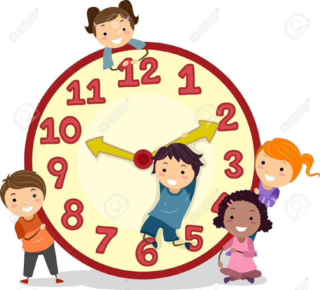 1300x1178 Clock Clipart School