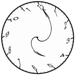 300x300 Crazy Clock Clipart