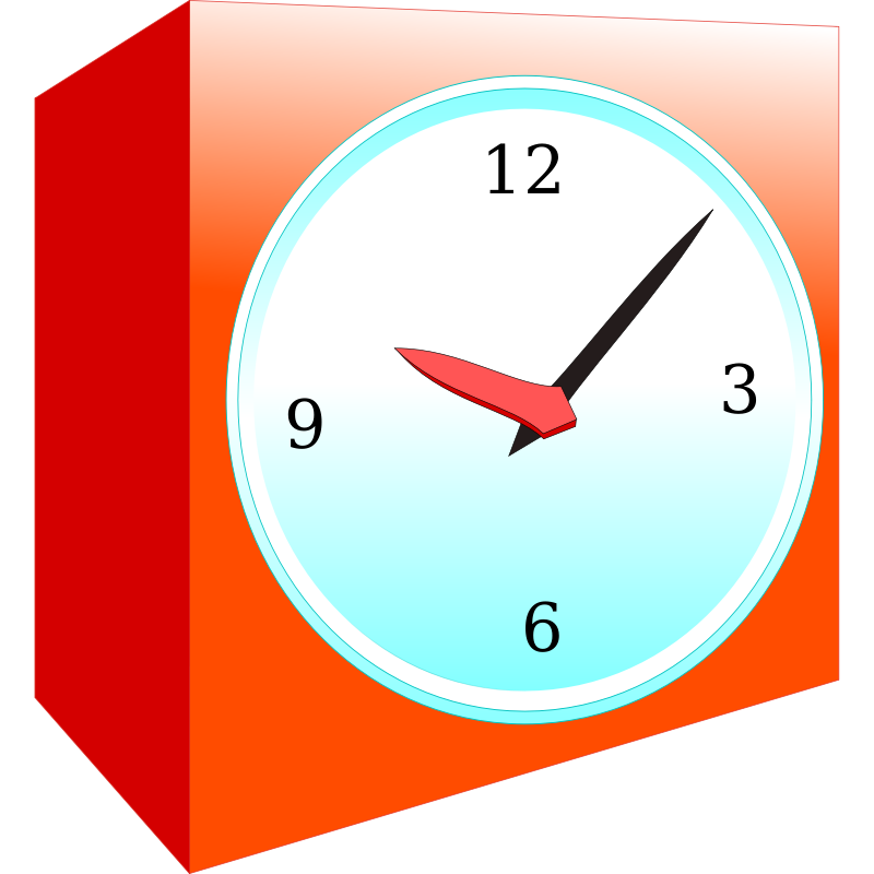 800x800 Time Clock Clipart