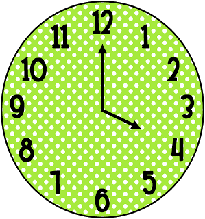 299x320 Time Clock Clipart Image