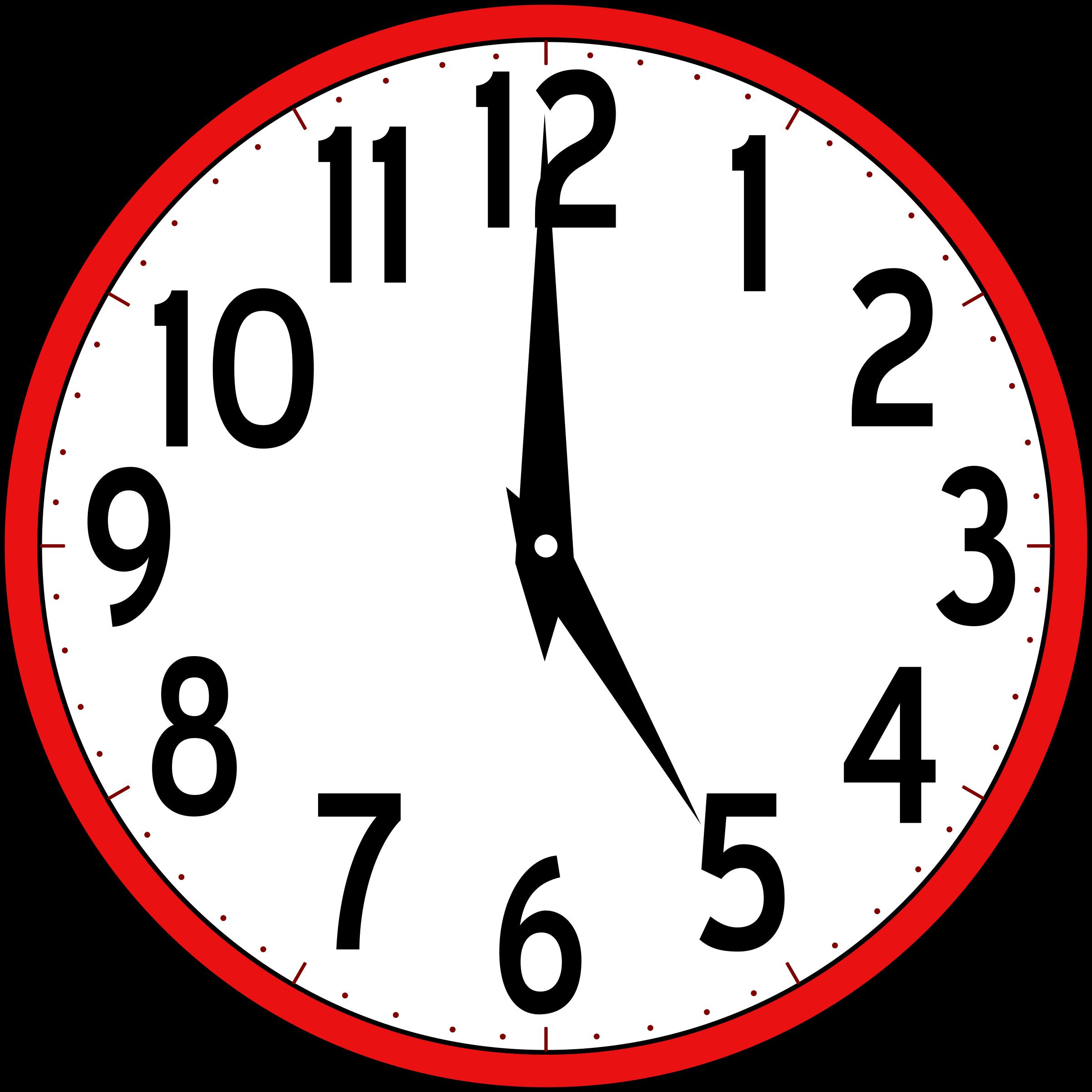 2400x2400 Clock Clip Art