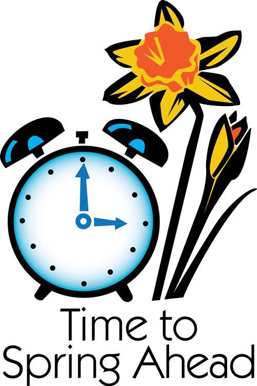 500x750 Clipart Clock Daylight Saving Time