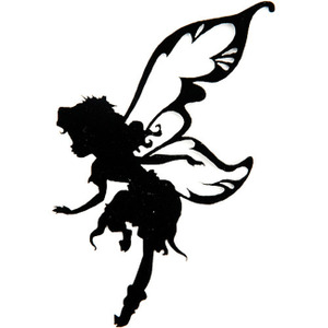 Sassy image in free printable disney silhouettes