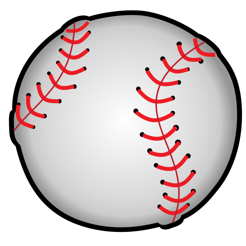 800x800 Baseball Clip Art Free Printable Clipart Images 6