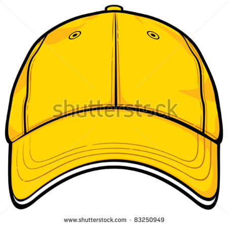450x444 Baseball Hat Clipart Front Stock Vector Orange Cap Baseball Cap