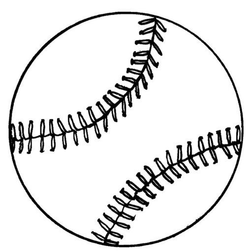 500x509 Baseball Coloring Sheet Coloring Pages, Clip Art, Etc