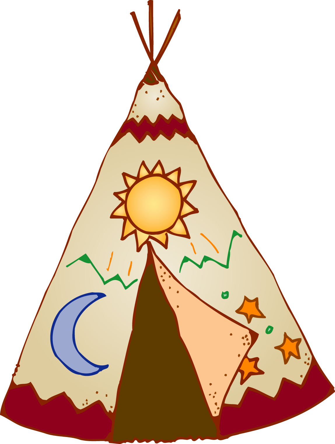 tipi clipart free download best tipi clipart on native american clip art free printable native american clip art free printable